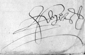 Firma Pedro Laso de Castilla