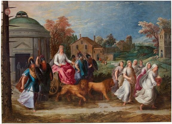 Alegoría del mes de Diciembre con el triunfo de Cibeles Copyright de la imagen ©Museo Nacional del Prado