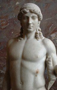 Apolo de Mantua, de un original de Polícleto, siglo V a. C.