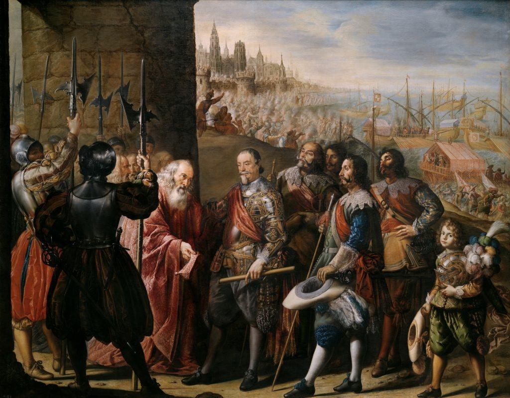 El socorro de Génova por el II marqués de Santa Cruz Pereda y Salgado, Antonio de. Copyright de la imagen ©Museo Nacional del Prado