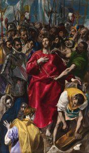 """""""El Expolio"""". El Greco."""