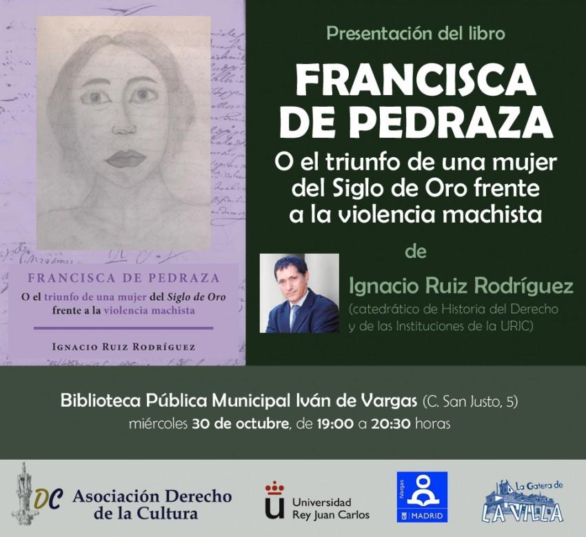 Presentación de libro Francisca de Pedraza