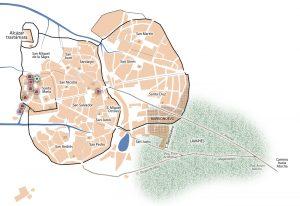 Acerca de la judería medieval de Madrid y su localización.