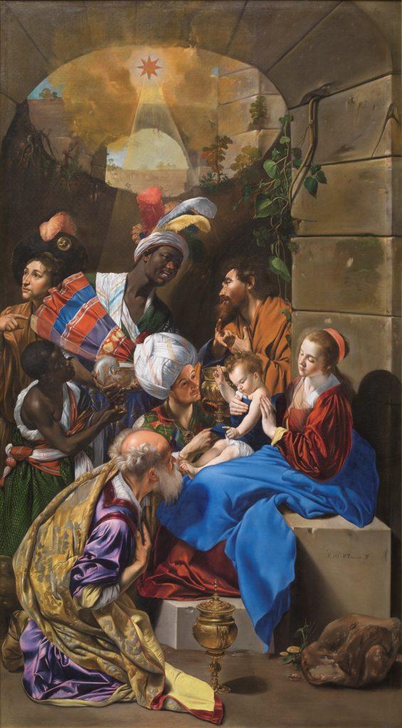 La Adoración de los Reyes Magos Maíno, Fray Juan Bautista Copyright de la imagen ©Museo Nacional del Prado