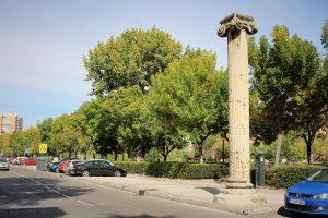 Columnas jónicas, por José Luis Cadenas