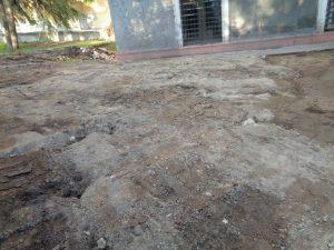 Restos muralla Jardín de Larra 10